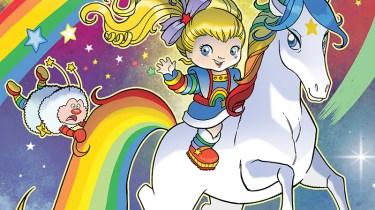Rainbow Brite cover #1B by Tony Fleecs