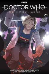 Doctor Who: The Thirteenth Doctor #1 cover by Rachael Stott