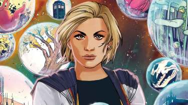 Doctor Who: The Thirteenth Doctor #1 cover by Sanya Anwar