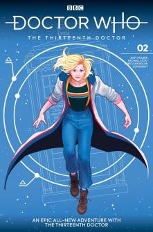 Doctor Who: The Thirteenth Doctor #2 cover by Paulina Ganucheau