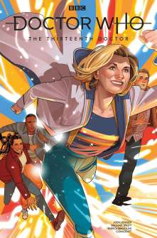 Doctor Who: The Thirteenth Doctor #2 cover by Rachael Stott
