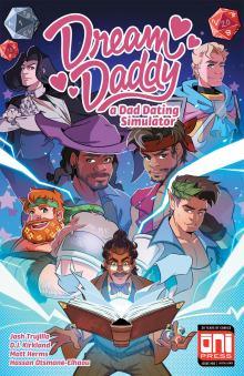 Dream Daddy #5 (digital) cover by Matt Herms