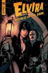 Elvira: Mistress of the Dark #2 cover by Craig Cermak