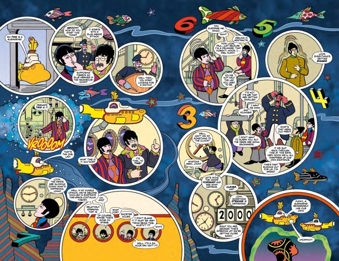 The Beatles: Yellow Submarine preview page 3