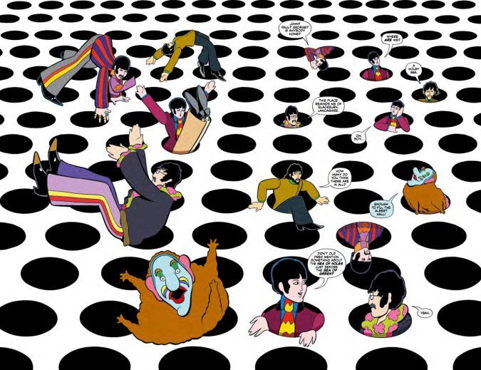 The Beatles: Yellow Submarine preview page 4