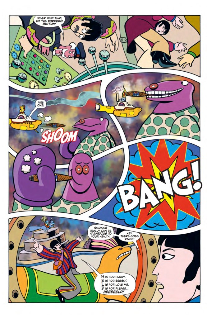 The Beatles: Yellow Submarine preview page 7