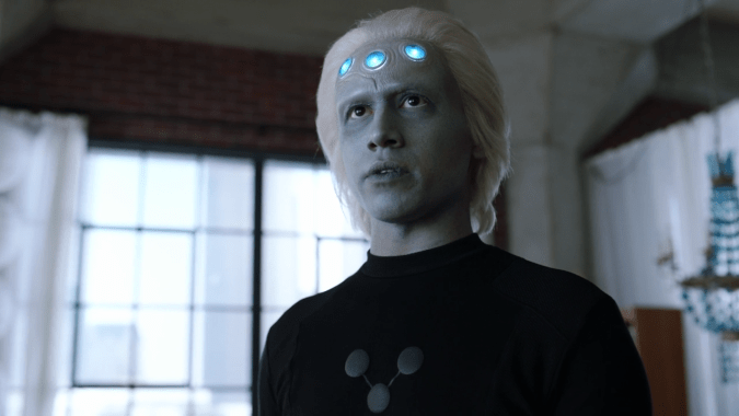 Jesse Rath as Brainiac 5 on Supergirl