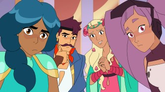 She-Ra - Mermista, Sea Hawk, Perfuma, Entrapta
