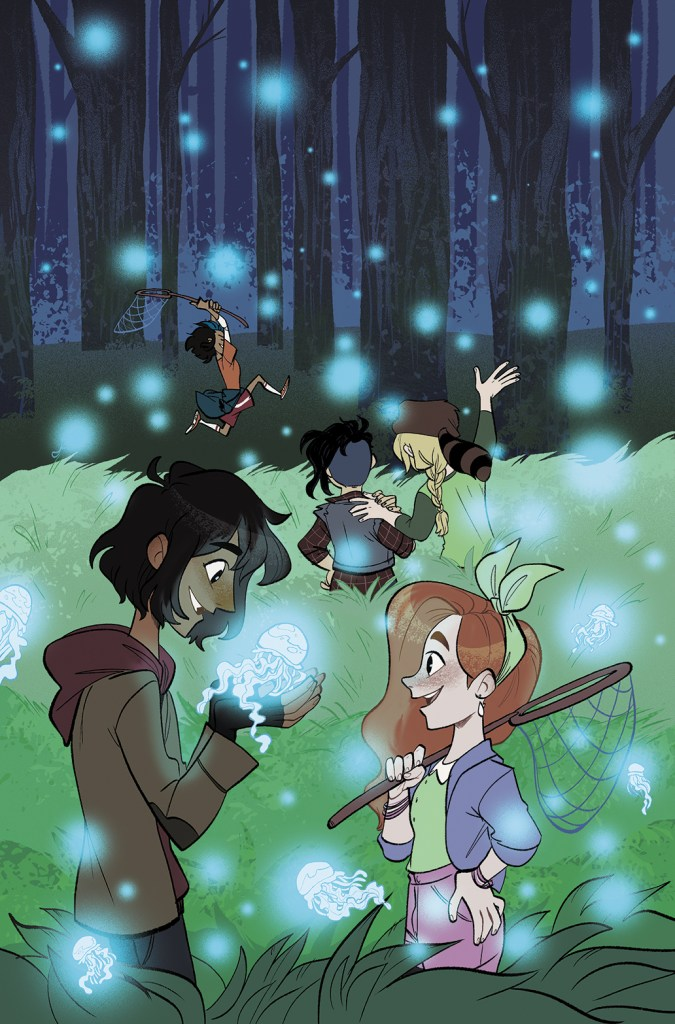 Lumberjanes: Somewhere That's Green cover by Alexa Bosy