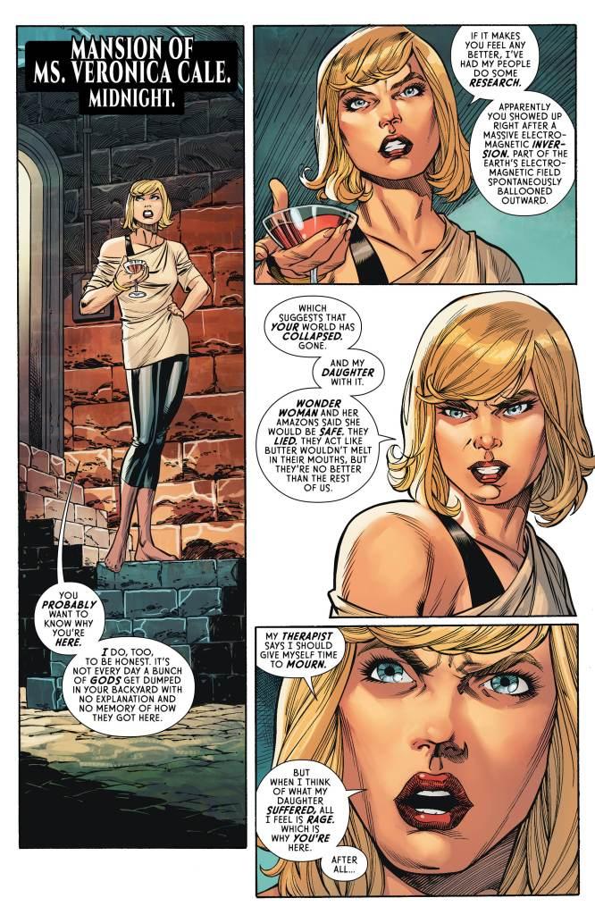 Wonder Woman #64 preview page