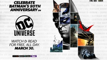 Batman 80th on DC Universe
