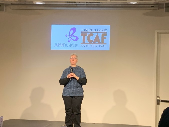 Erica Friedman at TCAF 2019