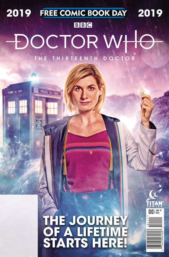 Doctor Who FCBD issue