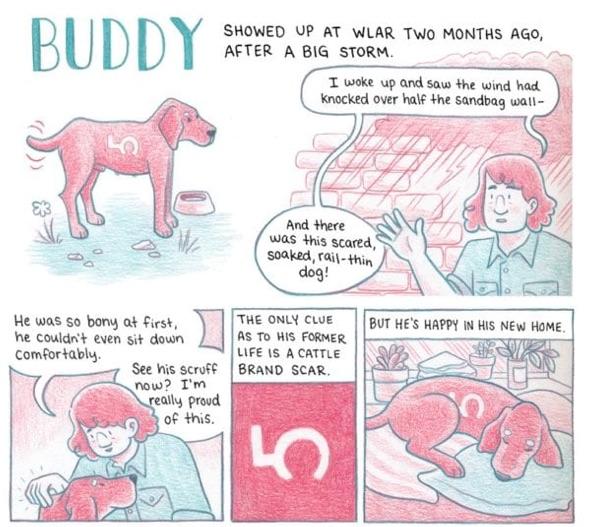 Melanie Gillman's comic diary