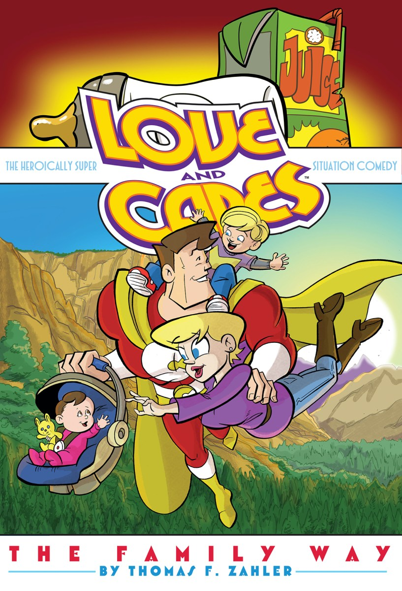 Love and Capes: The Family Way Privately Serialized