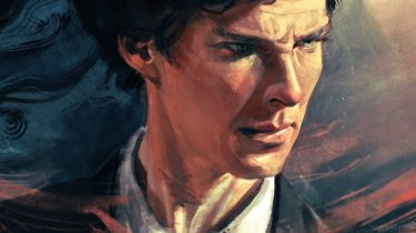 Sherlock: A Scandal in Belgravia #1 cover by Alice X. Zhang