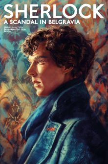 Sherlock: A Scandal in Belgravia #2 cover by Alice X. Zhang