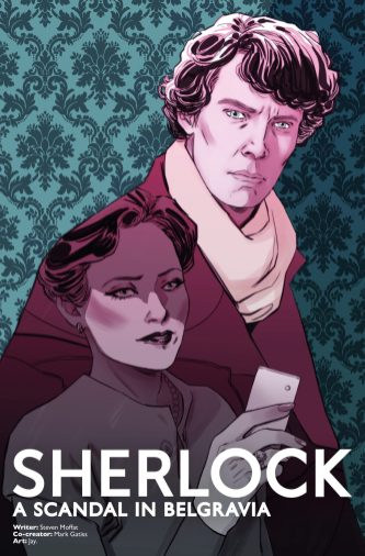 Sherlock: A Scandal in Belgravia #2 cover by Marguerite Sauvage