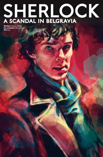 Sherlock: A Scandal in Belgravia #3 cover by Alice X. Zhang