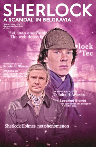 Sherlock: A Scandal in Belgravia #3 photo cover