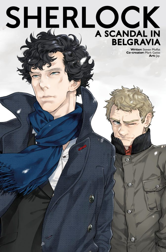 Sherlock: A Scandal in Belgravia #3 cover by Jay