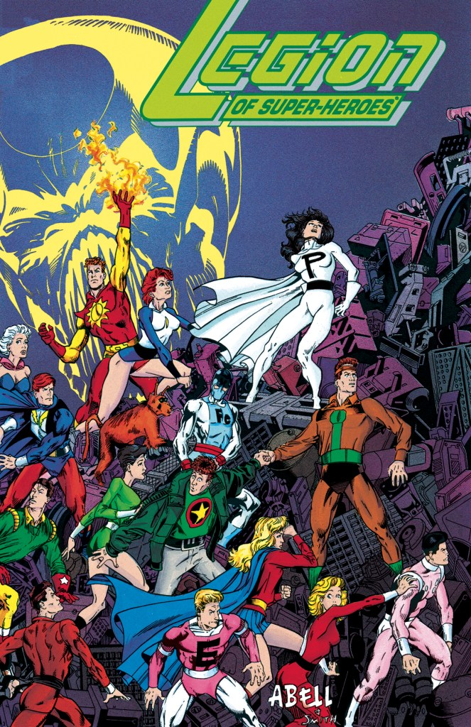 The Legion of Super-Heroes Five Years Later Omnibus