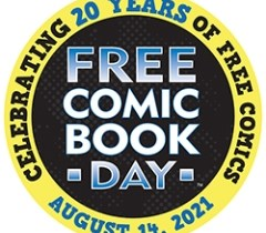 Free Comic Book Day 20th Anniversary Logo