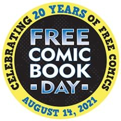 Free Comic Book Day 20th Anniversary Logo