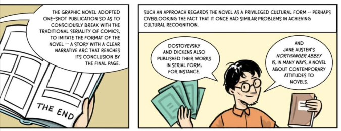Panels from How to Study Comics & Graphic Novels: A Graphic Introduction to Comics Studies