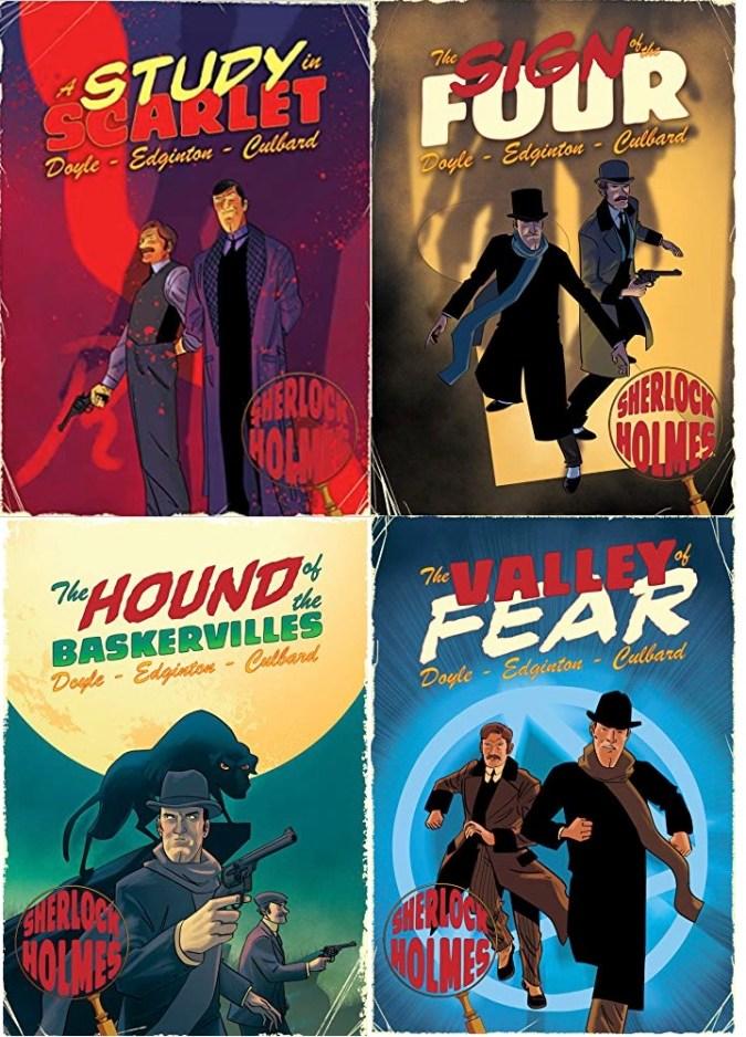 Sherlock Holmes graphic novels from SelfMadeHero