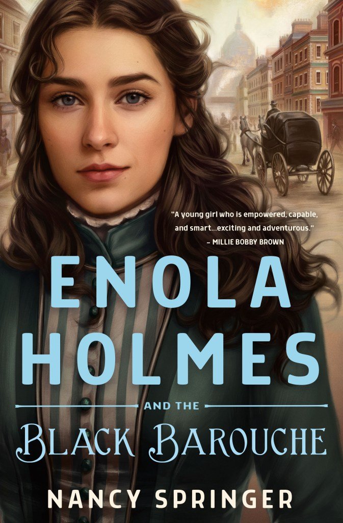 Enola Holmes and the Black Barouche cover