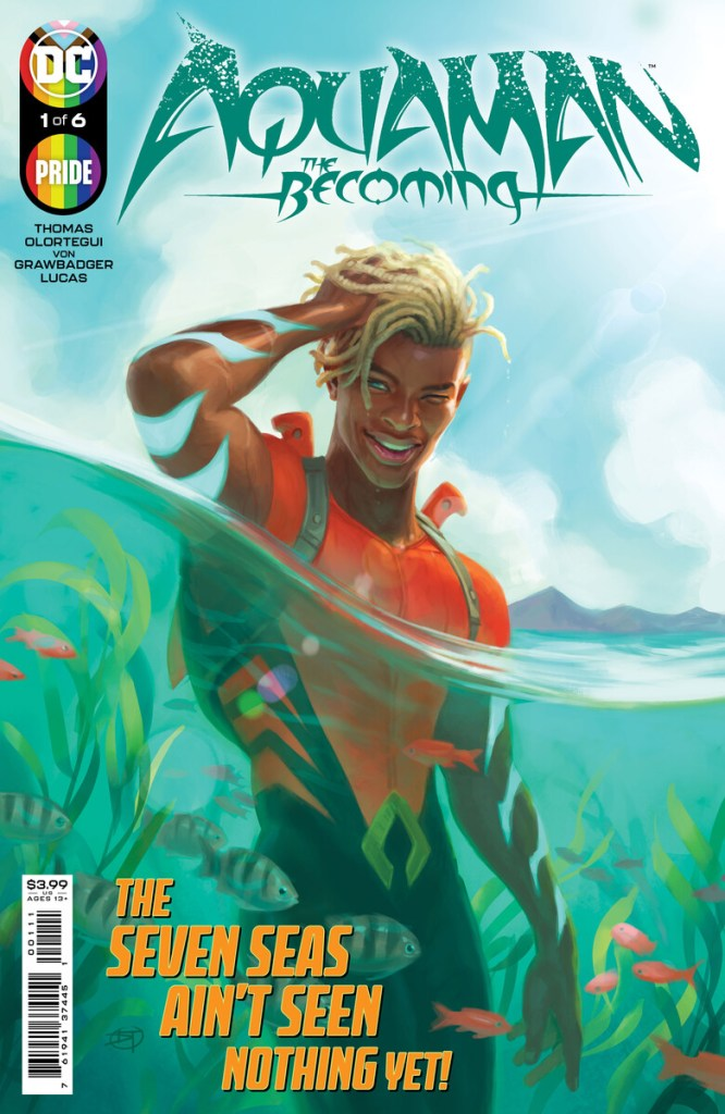 Aquaman: The Becoming #1 cover