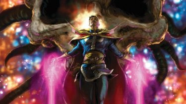 The Death of Doctor Strange #1 cover