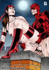 Superheroes vs Villanos porno parte 3