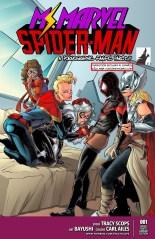 Ms.Marvel Spiderman XXX