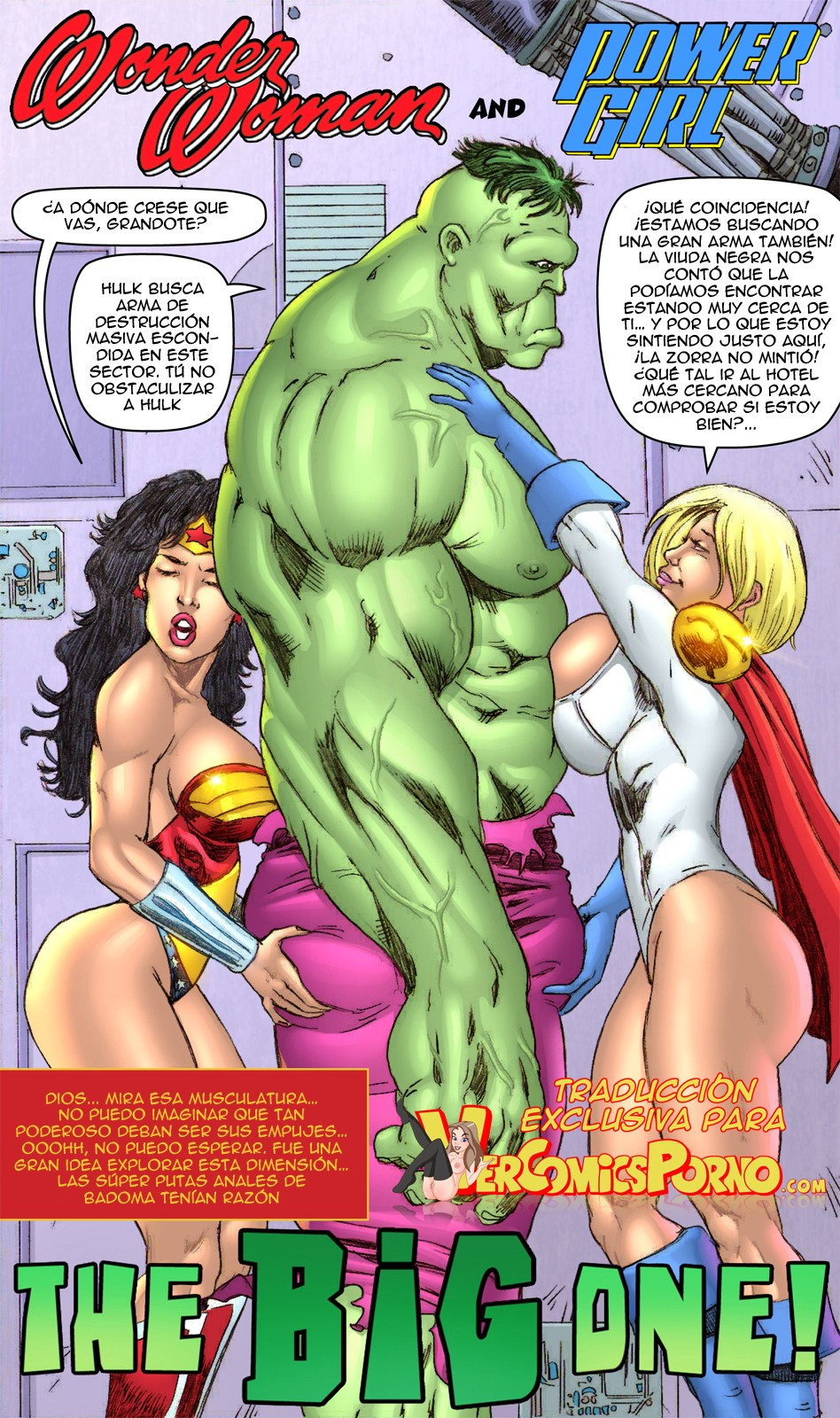Porn wonder hulk and woman