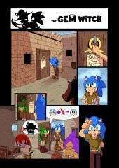 The Gem Witch (Sonic xxx)