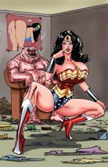 Wonder Woman VS Porkum – Justice League XXX English