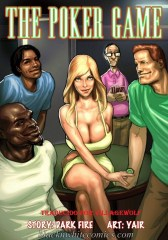 BlacknWhite- The Poker Game Interracial