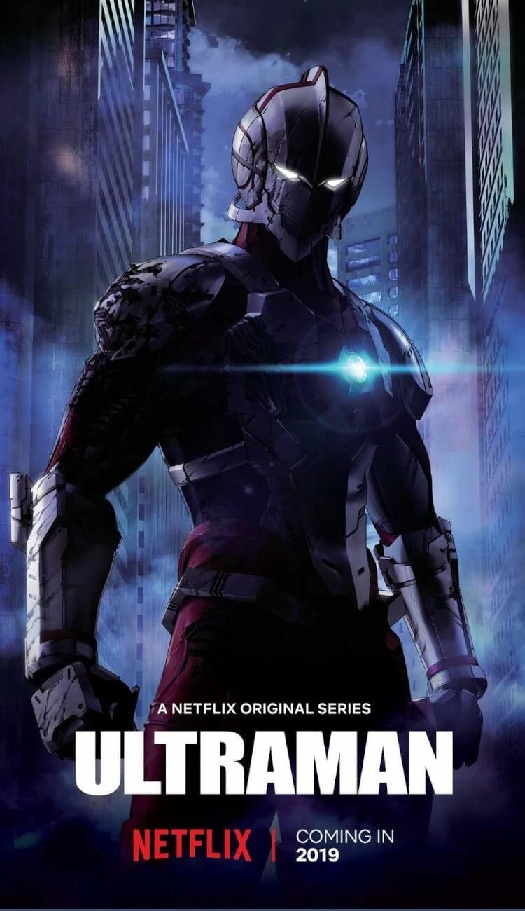 Poster for Netflix Original Anime Ultraman