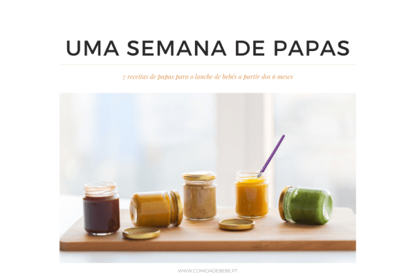 E-book: 1 semana de papas