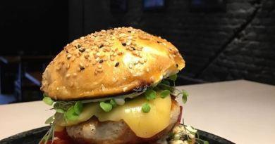 No Mangue tem hambúrguer de siri