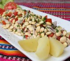 Receta de Ceviche de Tarwi Chocho