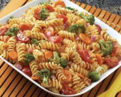Receta de Ensalada de Fideos y verduras