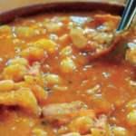 Receta de Sopa de Mashuas