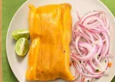 Receta de Tamales de Pollo Chancho