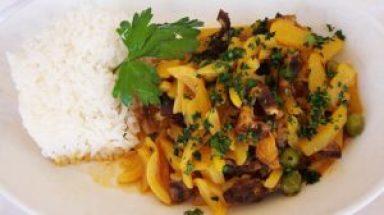 plato tipico del peru Receta del olluquito con charqui