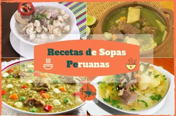 ▷ Las Mejores SOPAS PERUANAS para PREPARAR » 【 2019 】