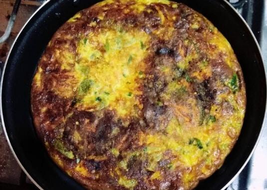 Tortilla de Caiguas