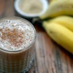 receta de batido de maca con plátano